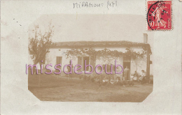 47 - MIRAMONT  - Une Maison  - Poules - 2 Scans - Autres Communes