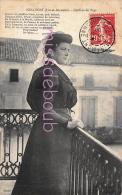 47 - MIRAMONT  - Jolie Jeune Femme Foulard - Coiffure Du Pays - Poème 1908 - 2 Scans - France