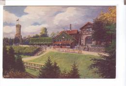 JENA Forsthaus Mit Kriegerdenkmal - Jena