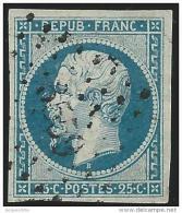 France    Yvert       10            O            Oblitéré - 1852 Luigi-Napoleone