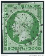 France    Yvert       12                 O            Oblitéré - 1853-1860 Napoleone III