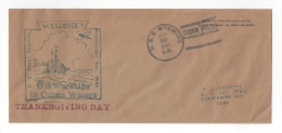Thanksgiving - 1933 - U.S.S. Wyoming (AG-17) In Cuban Waters [#3876] - Event Covers