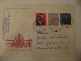 1962, Dimitrow Zusammendruck, Michel W ZD 31 BRF Letter, Value 100,- - [6] République Démocratique