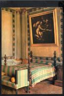 P4154 Piccolo Comune Di Bisuschio ( 4000 Ab. In Prov. Di VARESE ) Villa CICOGNA - LETTO E DIPINTO - Quadro, Tableau - Italia