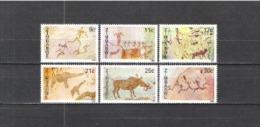 Simbabwe Zimbabwe 1982 Geschichte Kunst Kultur Felsmalereien Höhlen Klippen Jagd Tiere Animals, Mi. 259-4 ** - Zimbabwe (1980-...)