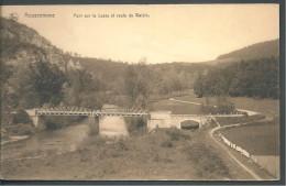 ! - Belgique - Prov. Namur - Anseremme (Dinant) - Pont Sur La Lesse Er Route De Walzin - Hastière