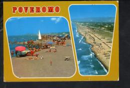 P4183 POVEROMO FRAZIONE DI MASSA - SPIAGGIA, BEACH, PLAGE, STRAND -  Annullo Ronchi 1982 - Massa