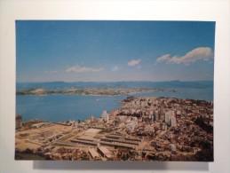BRASIL BRAZIL BRESIL FLORIANOPOLIS PARTIAL VIEW 1970 YEARS POSTCARD - Florianópolis