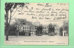 ASIE---VIET-NAM----SAIGON----palais Du Gouverneur Général---voir 2 Scans - Viêt-Nam