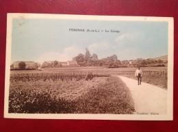 71 Saone Et Loire Cpa PERONNE Le Caruge (Carruge) - Sonstige Gemeinden