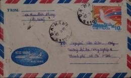 Vietnam Viet Nam Local Cover 1985 With Bird Stamp - Vietnam