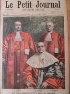 Gravure 1899 Les Juges    Enqueteurs   De La Cour De Cassation    Voisin  Mazeau  Et Dareste Droit Tribunal Avocat - Non Classés