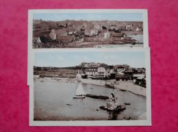 Lot De 2 Cpa 22 PLOUMANAC'H   Anime     Port, Oratoire Plage Et Hotel Saint Guirec - Ploumanac'h
