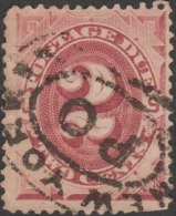 USA 1887 Y&T Taxe 9, 2 C - Postage Due