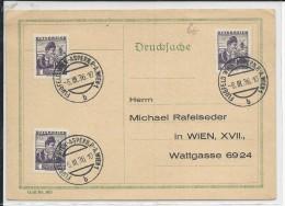 """AUTRICHE - 1936 - CARTE POSTE AERIENNE Avec OBLITERATION TEMPORAIRE """"FLUGFELD WIEN-ASPERN"""" - 1918-1945 1a Repubblica"""