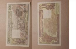 BANQUE CENTRALE AFRIQUE DE L'OUEST / 500 FRANCS / ANNEE 1984 / SERIE Z.11 - West African States