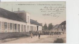 62 - RICHEBOURG L'AVOUE / LE TISSAGE MECANIQUE LEROY - UNE SORTIE D'OUVRIERS - Other Municipalities