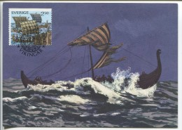 "Vikings - ""Out At Sea""  (Maximum Card) - Autres"