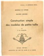 Plan De Bateau - Modèles De Vitrine - Navires Anciens - Construction Simple Modèles Petite Taille - 1963 - Bateaux