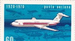 Romania 1979 50th Anniversary Flight MNH - 1948-.... Republics