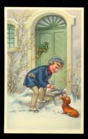 Chien  Hond  Tekkel  Basset  Enfant - Honden