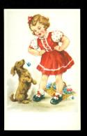 Chien  Hond  Enfant  Kind - Honden