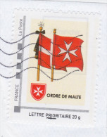 Drapeau Ordre De Malte - France
