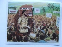 GRENADA PEOPLES REVOLUTION MINISHEET MNH $5 VALUE - Grenada (1974-...)