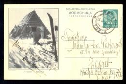 Illustrated Stationery - Image Jahorina / Stationery Circulated - 1931-1941 Royaume De Yougoslavie