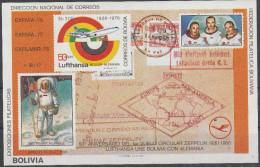 """BOLIVIEN Block 105(909B) """"11.Jahrestag Der Ersten Mondlandung"""" MNH / ** / Postfrisch - Bolivien"""