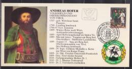 Andréas Hofer Patriote Tyrolien Aubergiste De Profession Rébellion Contre Impérialisme Bonapartiste Autriche 5.6.84 - Maximum Cards