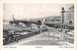Budapest, Horthy Miklos Brücke - Hongrie