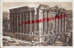 LIBAN - BAALBECK - TEMPLE DE BACCHUS - CARTE PHOTO - Liban