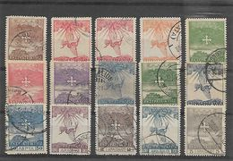 Greece 1912 Campaign Set Up To 5 Dr. Used - Usados