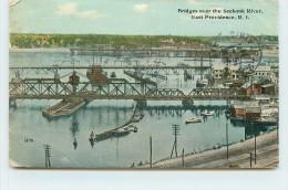EAST PROVIDENCE - Bridges Over The Seekonk River.(carte Vendue En L'état) - Providence