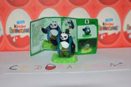 Kinder Surprise = Kung Fu Panda 3  = FS280 + Bpz Allemagne - Monoblocchi