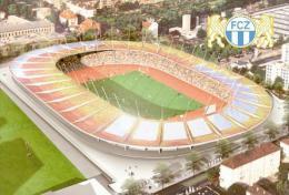 Stadium Letzigrund (FC Zurich,Switzerland) Postcard - Size: 15x10 Cm. Aprox - Soccer
