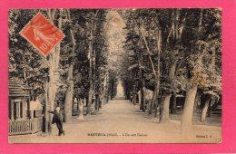 78 YVELINES MANTES-la-JOLIE, L'Ile Aux Dames, Animée, 1921, (L. S.) - Mantes La Jolie