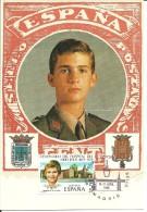 TARJETA  PRINCIPE FELIPE - 1931-Hoy: 2ª República - ... Juan Carlos I