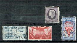 Ross - Freimarken 1957 (**/MNH) - Unused Stamps