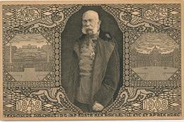 AUTRICHE - JUBILÄUMS KORRESPONDENZ KARTE - 1848-1908 - Portrait De FRANCOIS JOSEPH -- FRANCISCUS JOSEPHUS - Autres