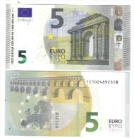 NEW 5 €  IRLANDA FDS UNC Serie T003 TC  DRAGHI  DA MAZZETTA Cod.€.213 - 5 Euro