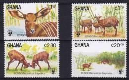 GHANA, WWF, Yvert 850/53** Neuf Sans Charniere. MNH - W.W.F.