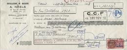 Lot De 32 Lettres De Change De 1958 à 1960 - Installation De Magasins A. Nikels (Paris) - CCF - Bills Of Exchange