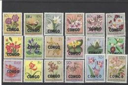 Nr 382-99 ** - Republic Of Congo (1960-64)