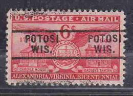 USA PRECANCEL POTOSI WI AIR MAIL AAD6460 - Préoblitérés