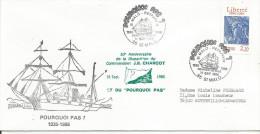 PLI 50 ANS DISPARITION COMMANDANT CHARCOT ET VOILIER POURQUOI PAS, 1986 - Schiffe