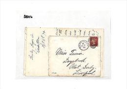 DD116 1878 Warrington Liverpool Cover & Contents Samwells-Covers - Non Classés