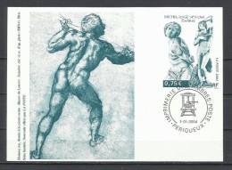 """Francia. 2004_Entero Postal. """"Miguel Ángel"""". - Enteros Postales"""