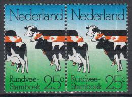 Nederland - Plaatfout 1052 PM19 – Paartje Rechterzegel - Postfris/MNH - Mast 7e Editie 2013 - Plaatfouten En Curiosa